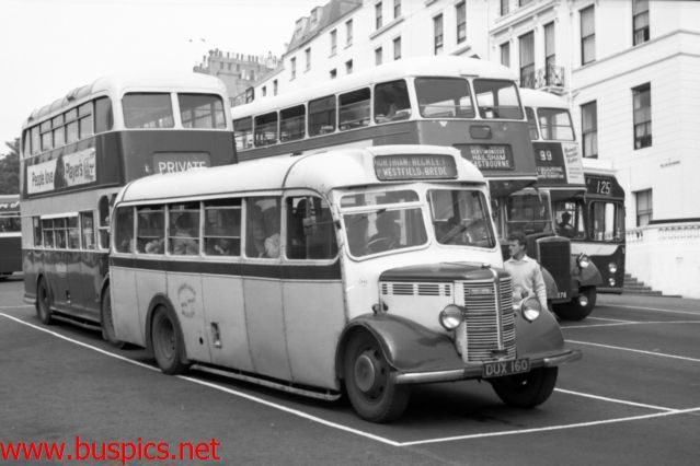 Dengates of Bickley's Bedford Bedford OB with Duple 29 seat bus body