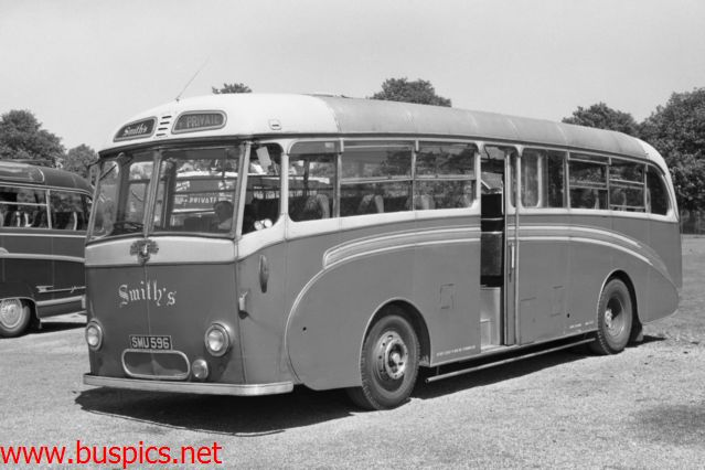 Smith's of Sittingbourne operated this Royal Tiger SMU596 but what is the body? looks a little like a Duple but the front is wrong
