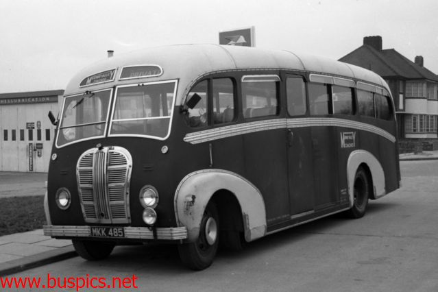Medway Valley Coaches operated this Austin C29F MKN485